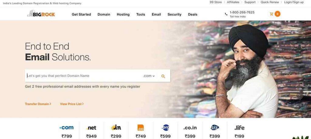 Bigrock Review 2021 Biggest Indian Hosting Platform