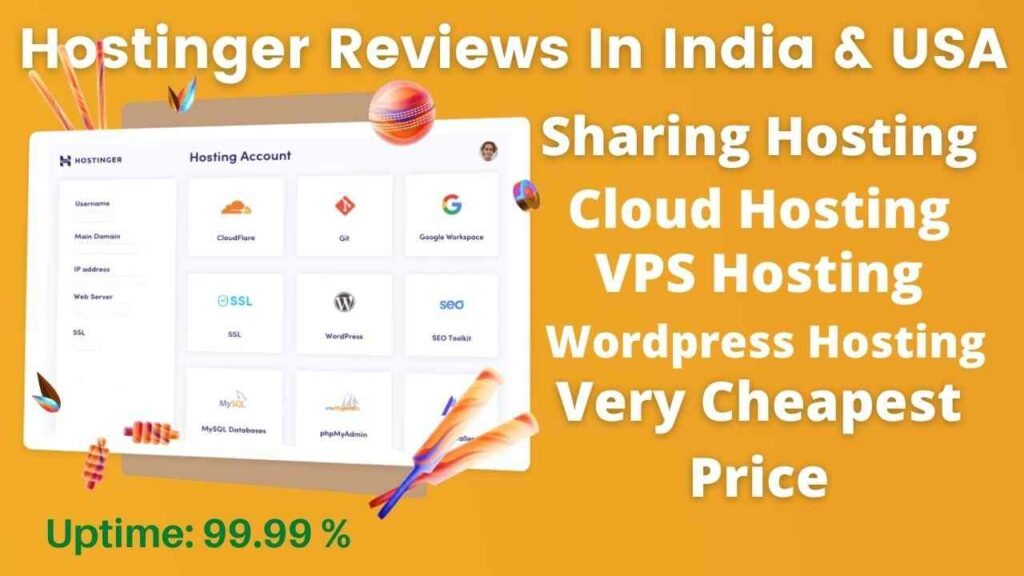 Hostinger Reviews In India & USA Cheapest Price
